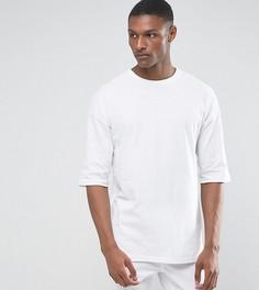 Белая свободная футболка ASOS TALL - Белый