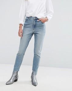 Джинсы в винтажном стиле с завышенной талией Cheap Monday - Синий