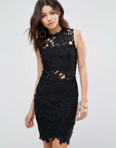 Кружевное платье Parisian - Черный