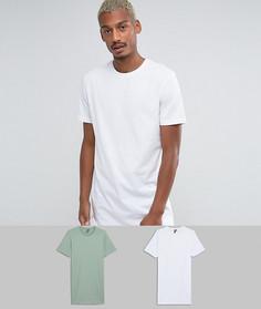 2 длинные футболки ASOS - СКИДКА - Мульти