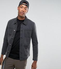 Черная джинсовая куртка ASOS TALL - Черный