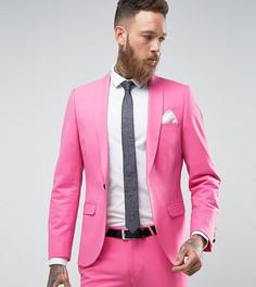 Супероблегающий пиджак Noose & Monkey - Розовый