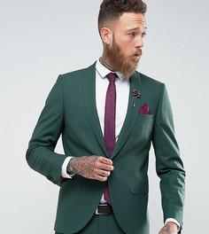 Супероблегающий пиджак Noose & Monkey - Зеленый