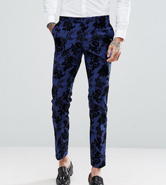 Супероблегающие брюки Noose & Monkey - Синий