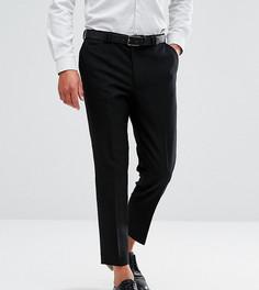Фланелевые брюки суженного книзу кроя Noak - Черный
