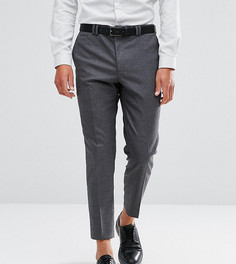 Фланелевые брюки суженного книзу кроя Noak - Серый