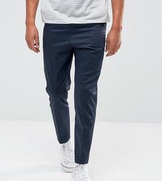 Укороченные узкие брюки Noak - Темно-синий