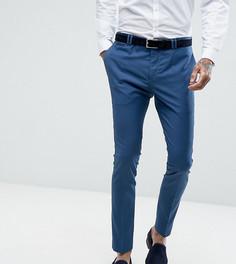 Супероблегающие синие брюки Noak - Синий