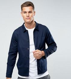 Облегающая куртка с большими карманами Noak - Темно-синий