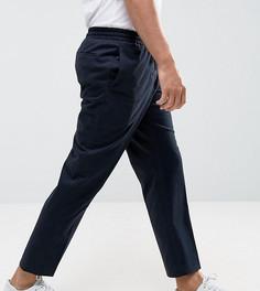 Укороченные брюки с широкими штанинами Noak - Темно-синий