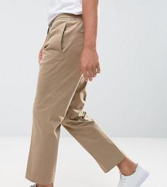 Укороченные брюки с широкими штанинами Noak - Светло-серый