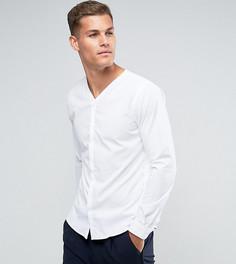 Приталенная рубашка со скрытой планкой Noak - Белый