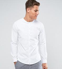 Облегающая рубашка без воротника Noak - Белый