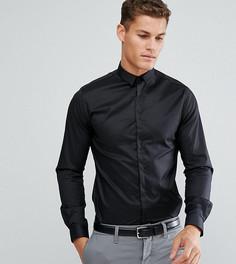 Приталенная рубашка Noak - Черный