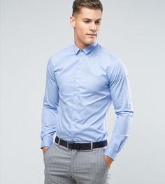 Приталенная рубашка Noak - Синий