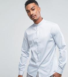 Приталенная рубашка с воротником на пуговице Noak - Серый