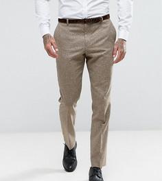 Узкие брюки в крапинку Heart & Dagger - Светло-серый