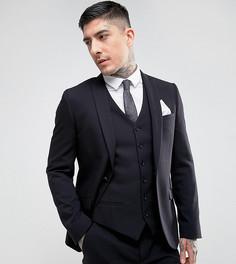 Приталенный пиджак Heart & Dagger - Черный