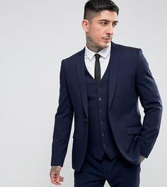 Приталенный пиджак Heart & Dagger - Темно-синий
