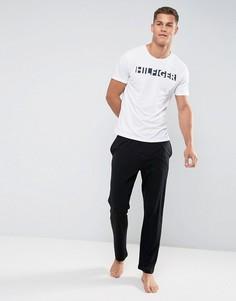 Черные штаны для дома Tommy Hilfiger - Черный