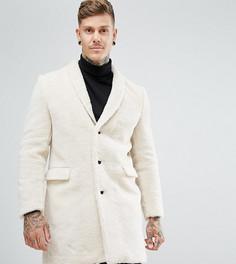 Пальто из искусственного меха Noose & Monkey - Кремовый