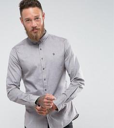Оксфордская рубашка скинни Noose & Monkey - Коричневый
