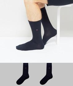 2 пары классических темно-синих носков Tommy Hilfiger - Темно-синий