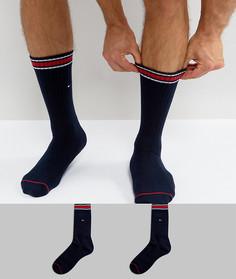 2 пары носков Tommy Hilfiger Heritage - Темно-синий