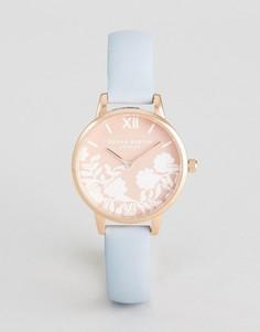 Часы с кожаным ремешком Olivia Burton OB16MV71 - Синий