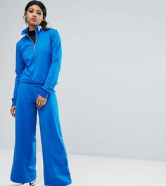 Широкие спортивные штаны с люверсами Bones - Синий