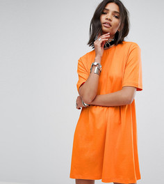 Свободное платье-футболка Rokoko - Оранжевый