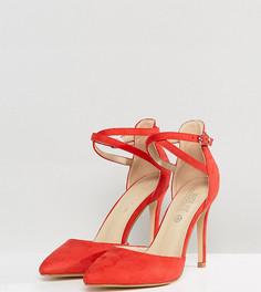 Туфли-лодочки для широкой стопы Truffle Collection - Красный