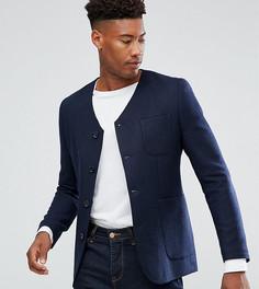 Облегающая куртка Heart & Dagger TALL - Темно-синий
