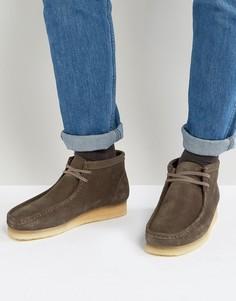 Замшевые ботинки Clarks Originals - Серый