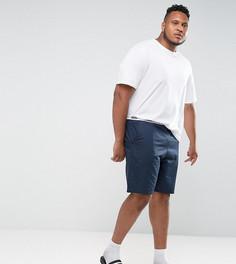 Тканые шорты для дома ASOS PLUS - Темно-синий