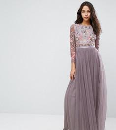 Платье из тюля Needle & Thread - Фиолетовый