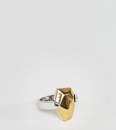 Массивное кольцо DesignB London эксклюзивно для ASOS - Золотой