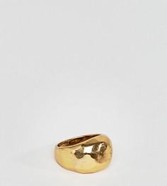 Фактурное кольцо DesignB London эксклюзивно для ASOS - Золотой
