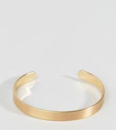 Золотистый браслет-манжета DesignB эксклюзивно для ASOS - Золотой
