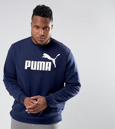 Темно-синий свитшот Puma PLUS ESS No.1 83825206 - Темно-синий
