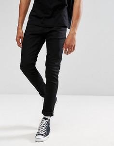 Черные джинсы скинни Nudie Jeans Co Tight Terry - Черный