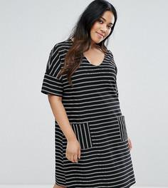 Платье в полоску Junarose - Мульти