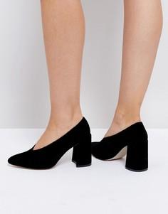 Туфли на блочном каблуке Boohoo - Черный