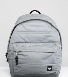 Уплотненный рюкзак эксклюзивно от Hype - Серебряный