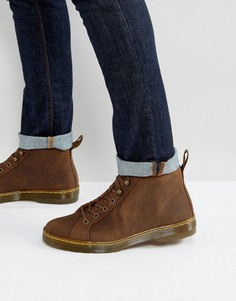 Ботинки с 6 парами люверсов Dr Martens - Коричневый