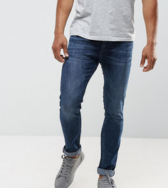 Темные джинсы скинни Just Junkies - Синий