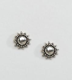 Серебряные серьги‑гвоздики Kingsley Ryan - Серебряный