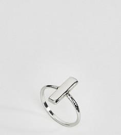 Серебряное кольцо с планкой Kingsley Ryan - Серебряный