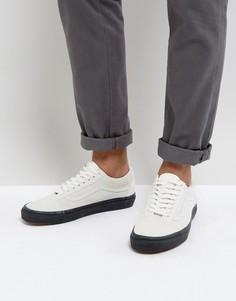 Серые замшевые кроссовки Vans Old Skool VA38G1OIP - Серый