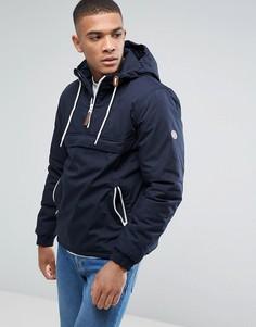 Легкая дутая куртка без застежки Solid - Темно-синий